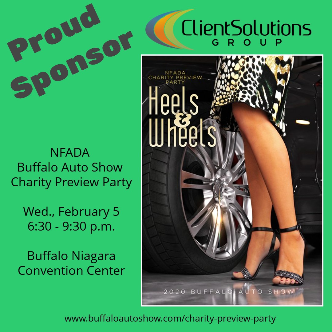 CSG Sponsors Buffalo Auto Show Preview Party